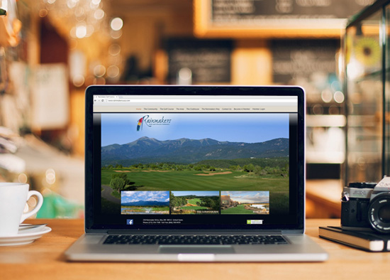 Rainmakers Golf & Lifestyle Community - website